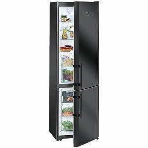 Liebherr cbnb 3913 r frig rateur 246 l a noir - Refrigerateur congelateur noir ...
