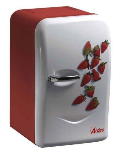 Mini frigo 17 litres 39 ardes 39 12 220 volt design 39 fraises 39 - Frigo table top pas cher ...