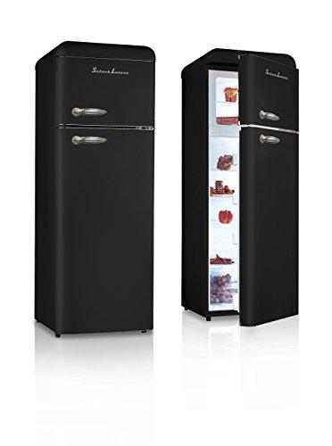 schaub lorenz sl208ddb r frig rateur vintage noir deux. Black Bedroom Furniture Sets. Home Design Ideas